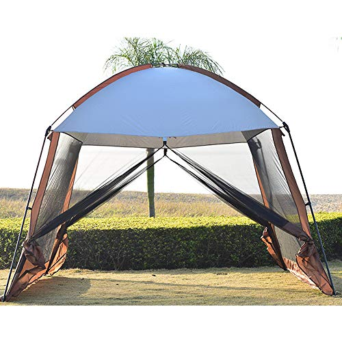 Forall-Ms 3x3m Large Sun Shade Tent for Garden,Gazebo with sides Waterproof Event Shelter Camping Pavilion Outdoor Screen House Tent