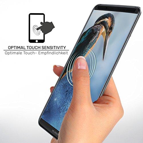 2X Huawei Y7 / Y7 Prime (2017)| Schutzfolie Matt Display Schutz [Anti-Reflex] Screen Protector Fingerprint Handy-Folie Matte Displayschutz-Folie für Huawei Y7 / Y7 Prime (2017) Displayfolie - 5