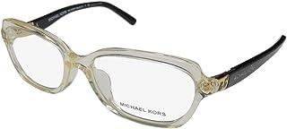 Michael Kors SADIE IV MK4025 Eyeglass Frames 3086-49 - Champagne/black MK4025-3086-49
