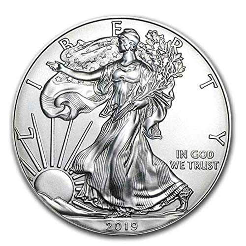 laoniu Amerikanische Freiheitsstatue Adler Eisen Gedenkmünzensammlung Geschenk, Größe: 40 * 3mm