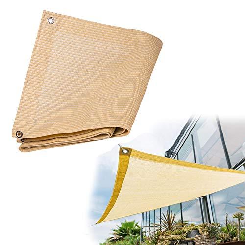 Rectangular Exterior Terraza Toldos, Vela De Sombra Exterior丨Rectangular Toldo Parasol 丨Toldo Transpirable E Ligeramente Impermeables丨Toldo Sombra Para Jardín Cochera Balcón丨Sombreado 95% Y Protección