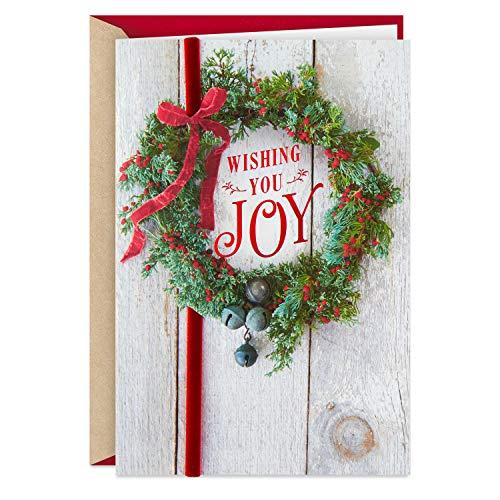 Hallmark Christmas Card (Wishing You Joy) (499XXH3084)
