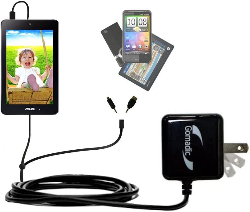 Dual Wall Travel AC Charger Topics on TV Compatible Free shipping New MeMOPad 7 in with Asus HD