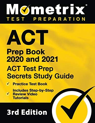 ACT Prep Book 2020 and 2021 ACT Test Prep Secrets Study Guide Practice Test Book Includes Step product image