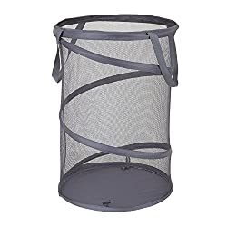 top rated Household Goods 2027-1 Folding Mesh Drawer Laundry Basket | Coal 2021