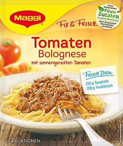 Maggi fix und frisch für Tomaten Bolognese, 27er Pack (27 x 50 g)