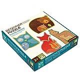 PETIT COLLAGE Puzzle Multicolor (PTC080