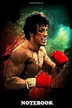 Notebook: Rocky Balboa , Journal for Writing, College Ruled Size 6