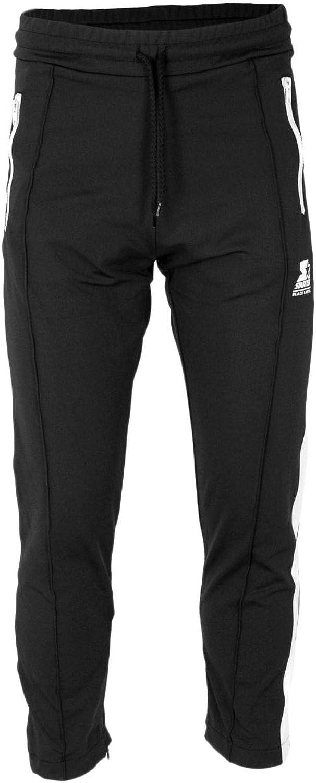 Starter Men's 72534BLK Black Polyester Joggers