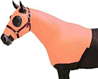 Chicks Saddlery Horse Hood Mane Tamer with Full Zipper Closure - Large Eye Holes