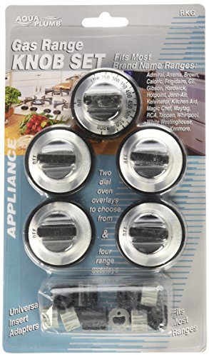 AquaPlumb RKG Gas Range Knob- 5PC/Card