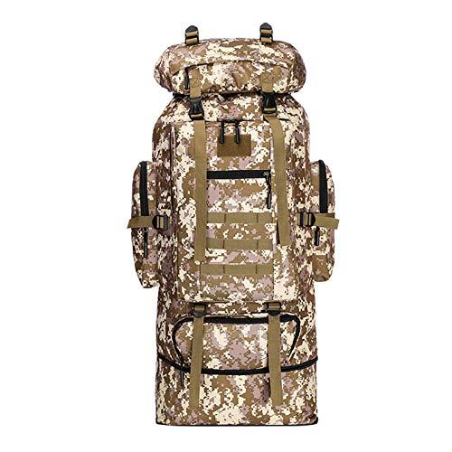 N-B Backpack Bag Outdoor Bag Travel Large Capacity 100l Backpack Camouflage Mountaineering Bag
