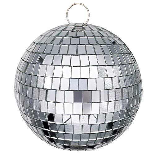 "Youdao 6"" Mirror Disco Ball Great for a Party or Dj Light Effect Mini Disco Ball"