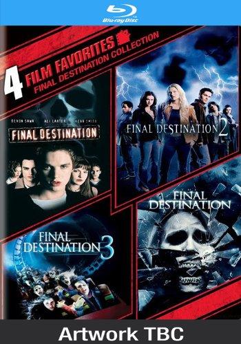 Final Destination Quadrilogy [Blu-ray] [UK Import]