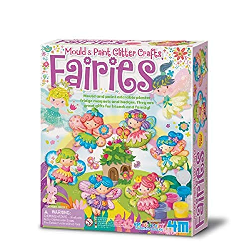 Great Gizmos 4M - Mould & Paint Glitter Fairy (004M3524)