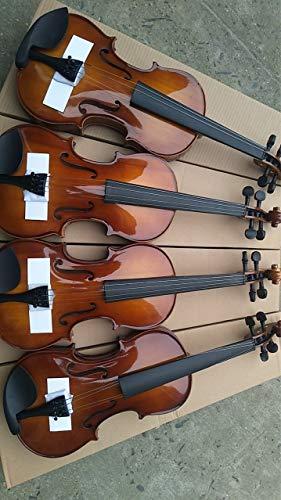 Die Popularität von weißen Kiefernholz Student Violine mit Ahorn Qin Er Bögen ACDES (Color : Brown)