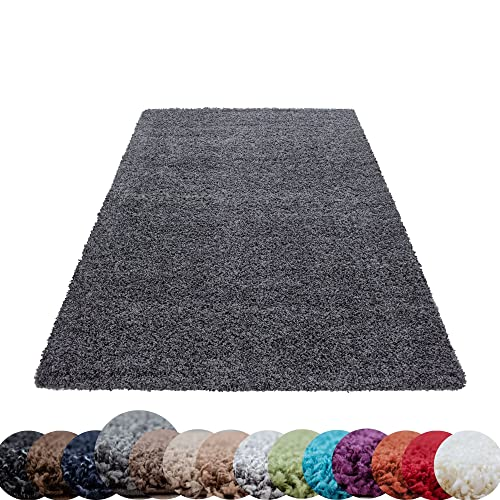 HomebyHome Hochflor-Teppich Bild