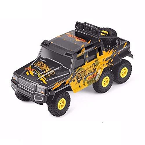Llpeng Rc Car 1.18 Sechs-Rad-Antrieb Klettern Auto 2.4G Remote Control sechsrädriger Big-Fuß-Geländewagen Hummer Spielzeug-Auto-Größe 38 * 17,5 * 18,5 cm, Hobby RC Fahrzeug