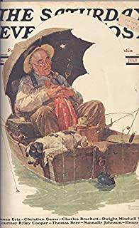 The Saturday Evening Post Magazine July 19, 1930 Norman Rockwell Cover