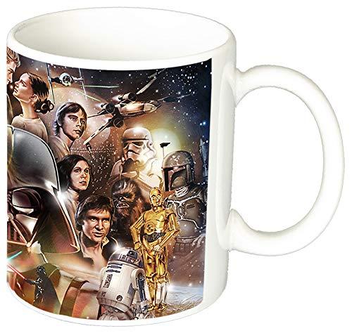 La Guerra De Las Galaxias Star Wars Saga C Taza Ceramica