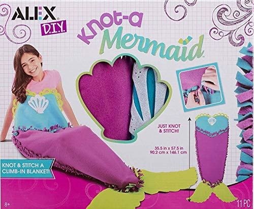 Alex DIY Knot-A-Mermaid Novelty Kids Art and Craft Activity