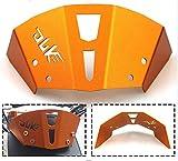 RONGLINGXING Pieces de Sport Motorise Aluminium CNC pare-brise de moto d'Orange Accessoires for pare-brise KTM...