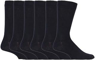 Sock Snob - 6 Pack Mens Thin Stripe Patterned Cotton Rich Business Dress Socks