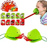 Funny Family Game Interactive Toys, Tongue Catch Bugs Tongue Desktop Board Game Lizard Tongue Game Novel Toys for Anyone