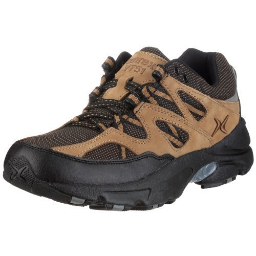 Aetrex Men´s X-Wide Sierra Trail Runner V751MX11, Herren Sportschuhe - Wandern, beige, (Tan/Black), EU 44 1/2, (US 11), (UK 10)
