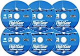 Flight Simulator 2020 X Premium DELUXE Edition Flight Sim FlightGear 6 Disc DVD CD Set For Microsoft Windows 10 8 7 Vista PC & Mac OS X - 600+ Aircraft & FULL Worldwide Scenery!