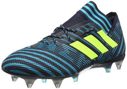 adidas Herren Nemeziz 17.1 SG Fußballschuhe, Blau (Legend Ink/Solar Yellow/Energy Blue), 42 2/3 EU