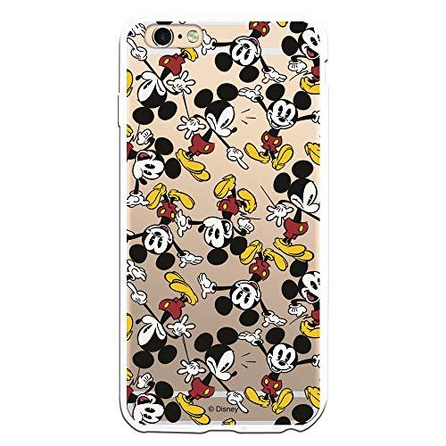 Coque officielle Disney Mickey Motif Bras Clear pour iPhone 6 Plus - 6S Plus - La maison des coques