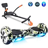 Windgoo Hoverboard 6.5' Balance Board Patinete Eléctrico Scooter Talla LED, Scooter eléctrico...
