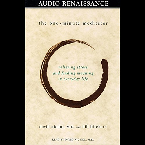 The One-Minute Meditator audiobook cover art