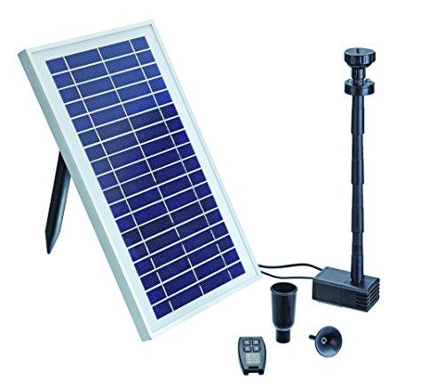 Pontec 43325 Wasserspiel PondoSolar 600 Control | Pumpe | Fontäne | Solar | Set