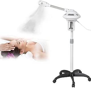 HURRISE Facial Steamer,2 Types Rocker Arm Single Arm Hot Facial Aroma Ozone Beauty Salon Spa Hot Facial Steamer Facial Hydration Home Sauna SPA Facial Atomizer(US)