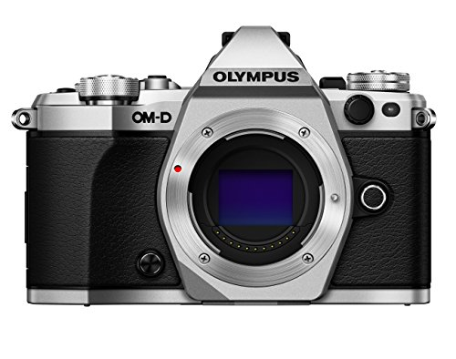 "Olympus OM-D E-M5 Mark II Corpo MILC 16.1MP 4/3"" Live MOS 4608 x 3456Pixel Nero, Argento"