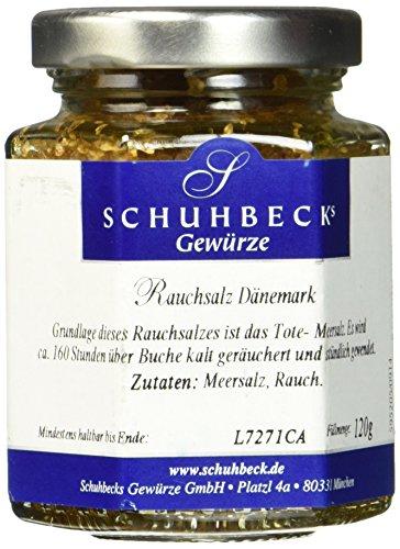 Schuhbecks Rauchsalz Dänemark, 1er Pack (1 x 120 g)