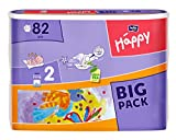 Bella Baby Happy Windeln, Big Pack, Größe 2 (Mini), 3-6 kg, (1 x 82 Windeln)