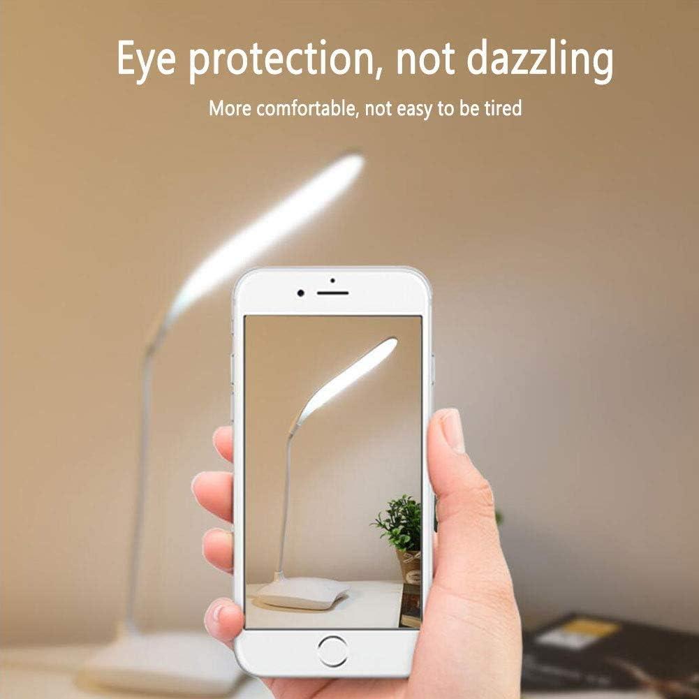 buff Tischleuchte mit Touch Control LED Schreibtischlampe Dimmbar Schreibtischleuchte Leselampe