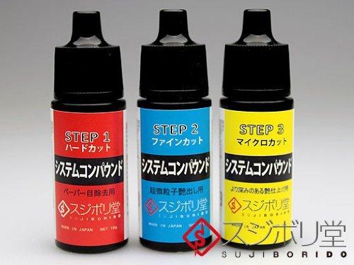 ■システムコンパウンド セット CON040 / スジボリ堂 / 工具素材 □