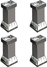 4X meubelpoten, metalen tafelpoten, aluminiumlegering, rechthoek, eenvoudig te installeren, geschikt voor koffietafel bank...
