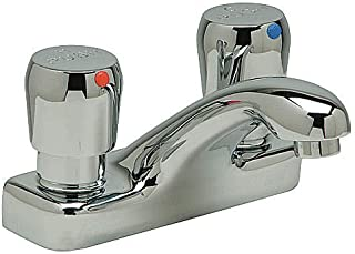 Double Handle Faucet, 0.5 gpm, Cast Brass
