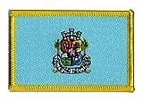 Aufnäher Patch Flagge Bulgarien Sofia - 8 x 6 cm