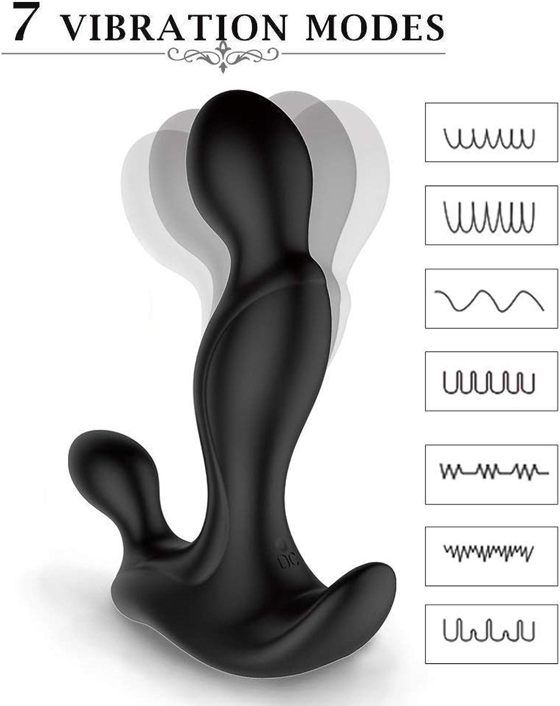 Urlovery Massagegerät für Männer, vibrierend, wiederaufladbar, Fernbedienung, Rücken, Nacken, Schulter, Entspannung, Massage, mit Mehreren Vibratoren, medizinisches Silikon, Vibrationsspielzeug B07MZNGCXH