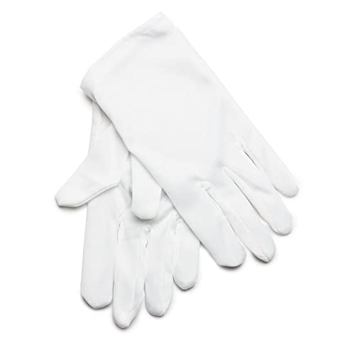 Rubie s Official Child White Cotton Gloves (One Size) cd90203b3e66