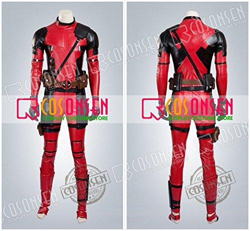 『X-Men X-メン エックスメン デッドプール(Deadpool) ウェイド・ウィルソン コスプレ衣装 COSONSEN (オーダーサイズ)』の2枚目の画像