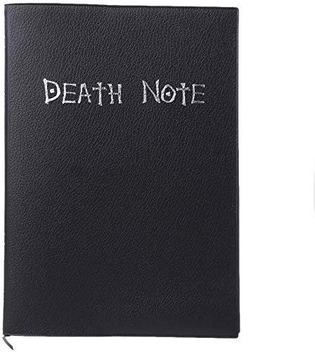Libro de la muerte,cuaderno, de Death Note, negro,21 * 14.5cm
