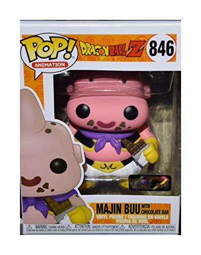 Funko POP! Animation: Dragon Ball Z #846 - Majin Buu [with Chocolate Bar] Exclusive
