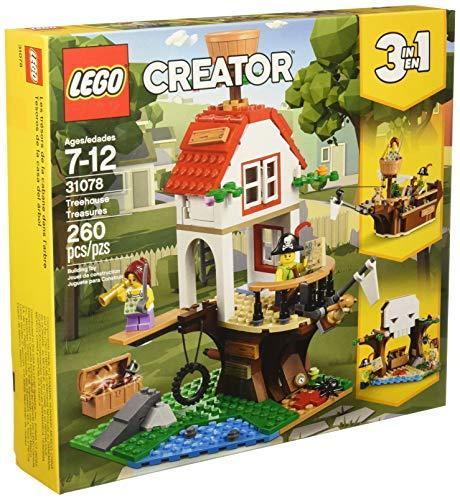 Lego 31078 Tesoros de la Casa del Árbol Creator 3 en 1, Building Kit 260 piezas
